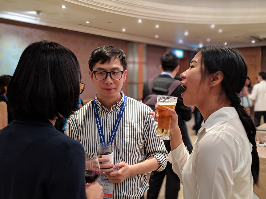 Photo from the HYI reception at AAS Bangkok