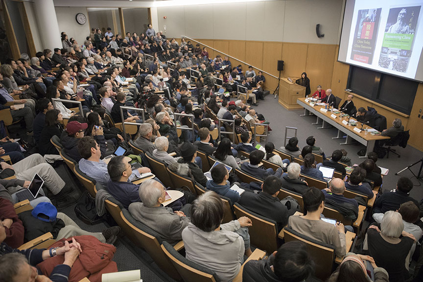Roundtable on Encountering China: Michael Sandel and Chinese Philosophy (Credit: Kris Snibbe/Harvard University)