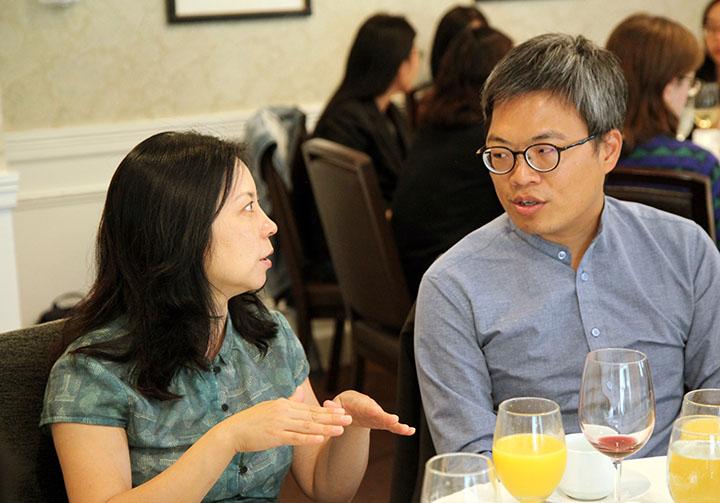 Liu Jingfang and Chen Hsun-mei