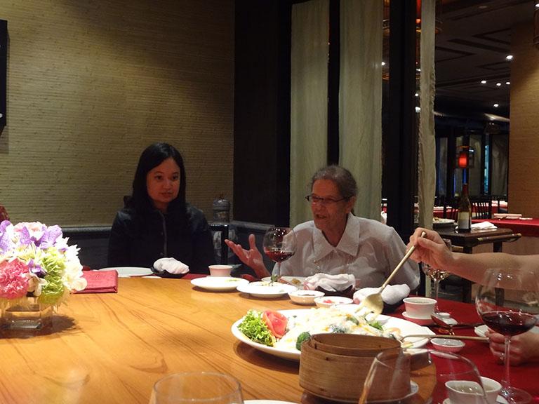 Bangkok-based HYI alumni at the dinner