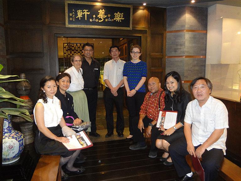 Bangkok alumni and HYI staff