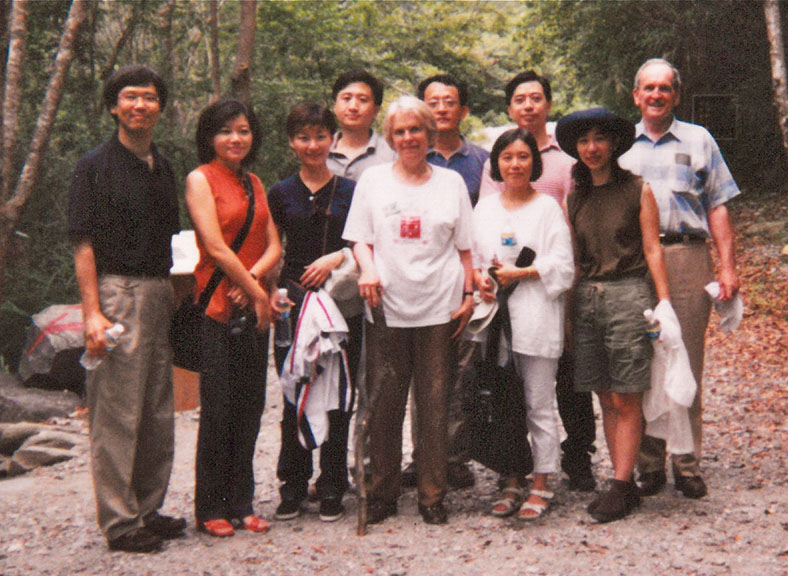Conference participants in Taiwan, 1999