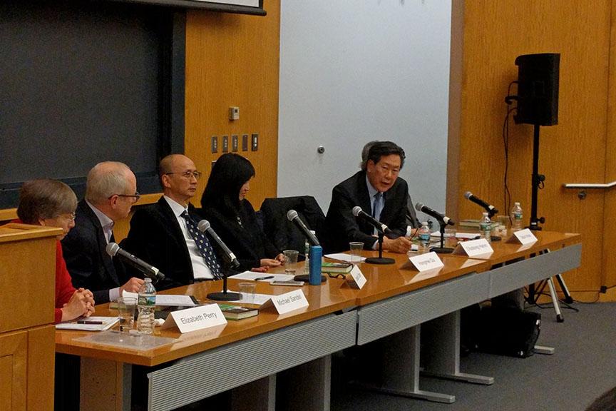 Elizabeth Perry, Michael Sandel, Joseph Chan, Qu Hongmei, Hahm Chaibong, Inoue Tatsuo