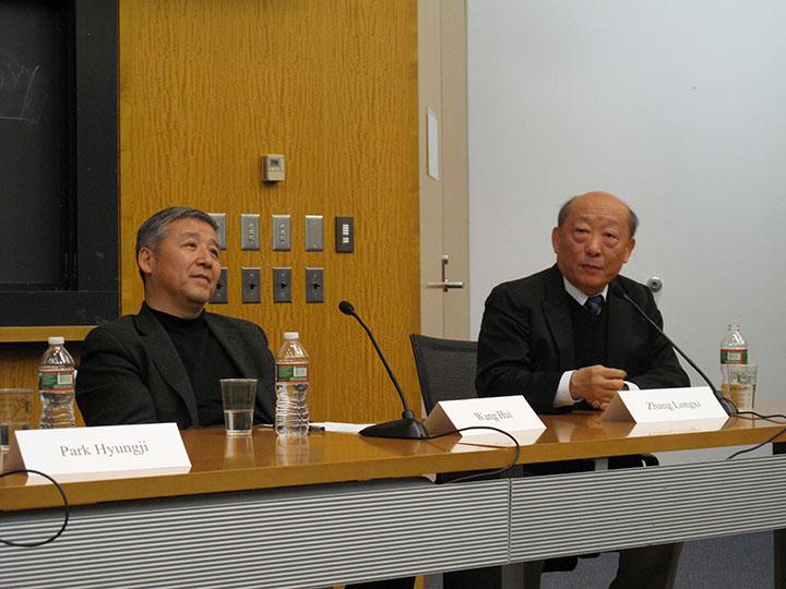 Wang Hui and Zhang Longxi