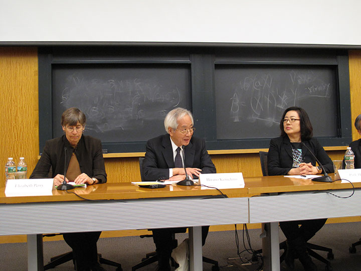 Elizabeth Perry, Hirano Kenichiro, and Park Hyungji