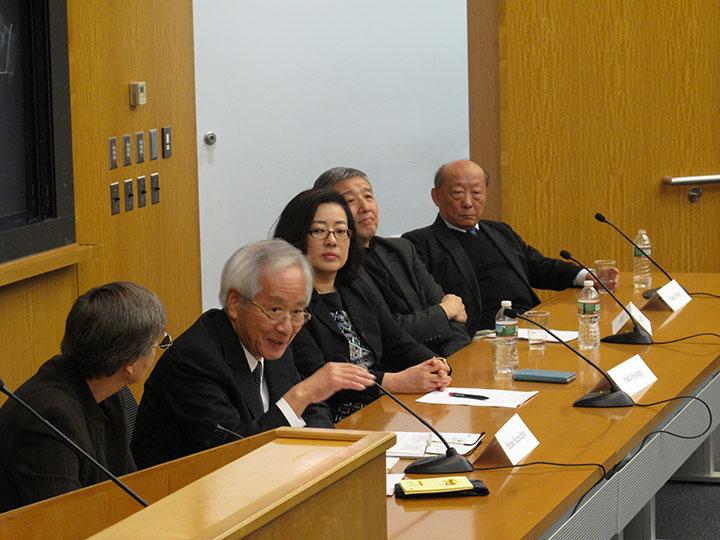 Elizabeth Perry, Hirano Kenichiro, Park Hyungji, Wang Hui, and Zhang Longxi