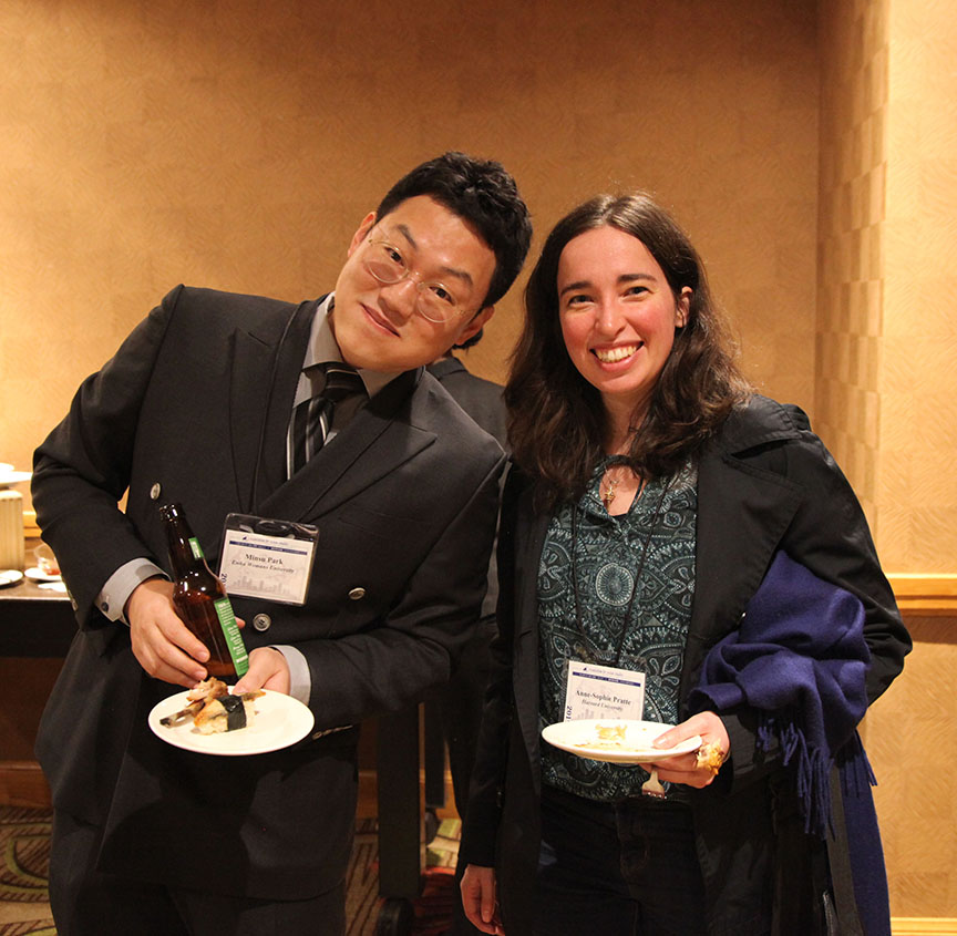 Park Minsu at HYI AAS Reception Denver