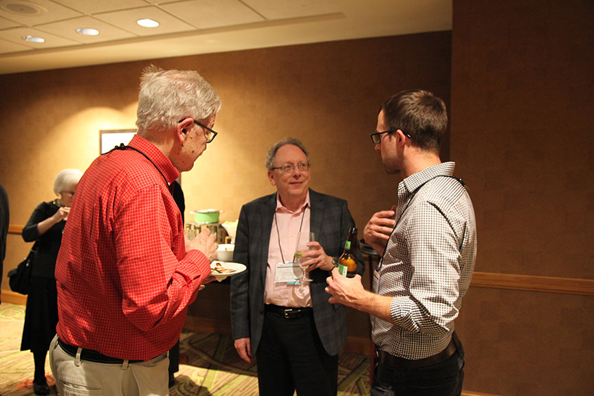 Andrew Gordon at HYI AAS Reception Denver