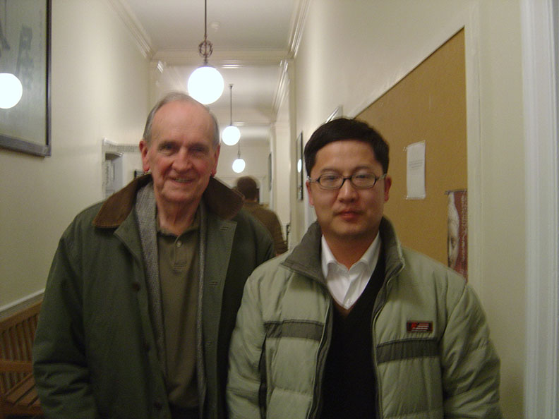 Xu Yongming and Patrick Hanan